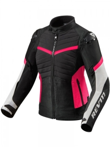 REV'IT kurtka ARC H20 lady black / pink