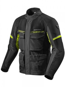 REV'IT kurtka OUTBACK III black/neon/yellow