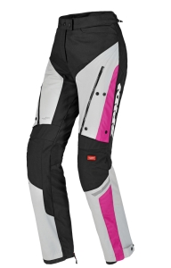 SPIDI spodnie 4SEASON lady black/gray/fuchsia
