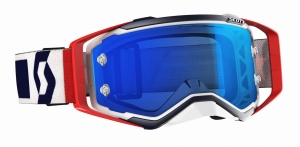 SCOTT gogle PROSPECT red/blue/electric blue chrome