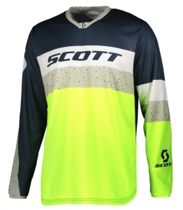 SCOTT bluza JERSEY 350 TRACK blue/yellow