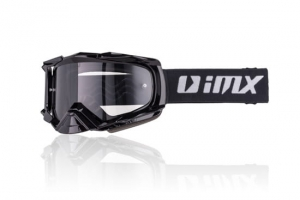 IMX gogle DUST black matt - szyba dark smoke+clear