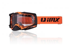 IMX gogle DUST orange black - szyba dark smoke+clear