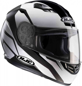 HJC kask CS-15 SEBKA black white