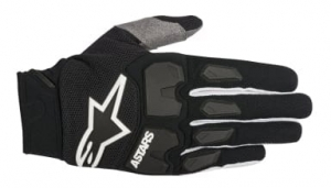 Alpinestars MX RACEFEND black rękawiczki off road