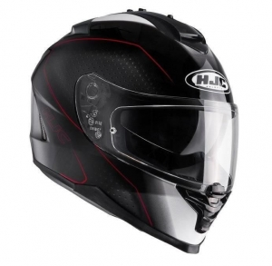 HJC kask IS-17 ARCUS black/red