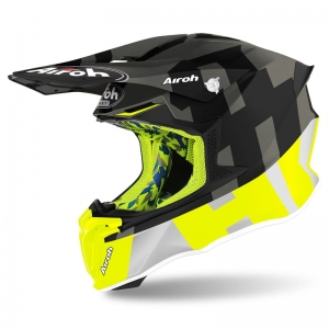 AIROH kask TWIST 2.0 FRAME antracite mat