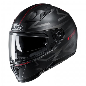HJC kask I70 CRAVIA black/red