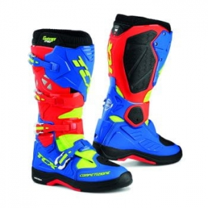 TCX buty COMP EVO 2 MICHELIN red/blue/yellow