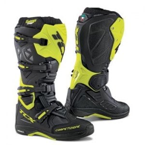 TCX buty COMP EVO MICHELIN black/yellow/fluo