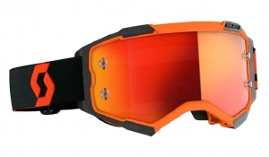 SCOTT gogle FURY orange/black chrome