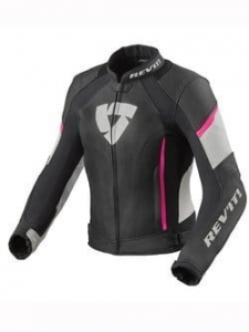 REV'IT kurtka damska XENA 3 black/pink