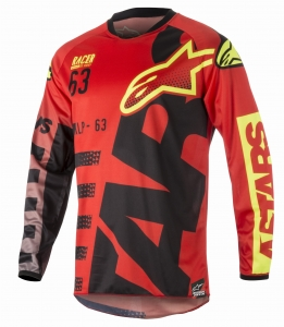 ALPINESTAR koszulka MX RACER BRAAP 316 off-road