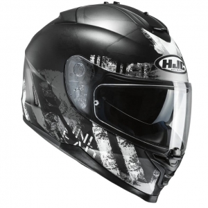 HJC kask IS-17 SHAPY black/white