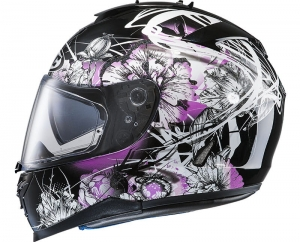 HJC kask IS-17 BARBWIRE Grey