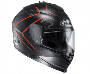 HJC kask IS-17 LANK black/red