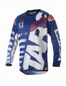 ALPINESTAR koszulka MX RACER BRAAP 723 off-road