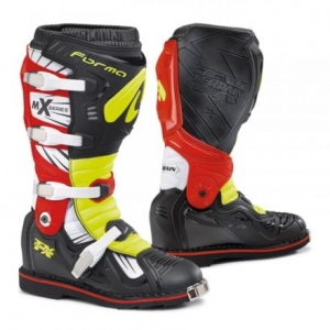 Forma buty TERRAIN TX black / yellow / red