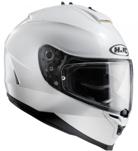 HJC kask IS-17 perl white ryan