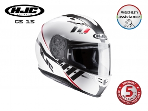 HJC kask CS-15 SPACE white/red