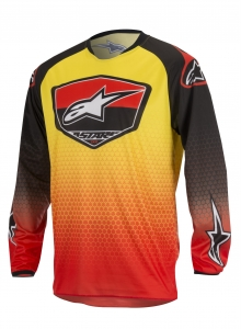 ALPINESTAR koszulka RACER SUPERMATIC 319 off-road