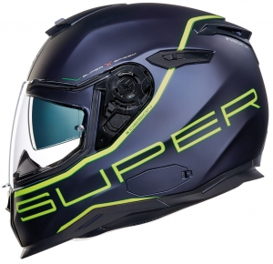 NEXX SX.100 SUPERSPEED NAVY BLUE NEON YELLOW