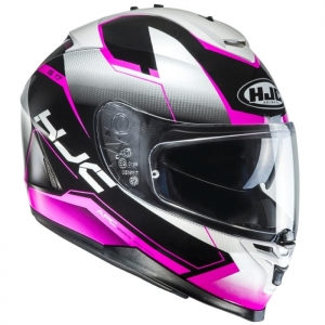 HJC kask IS-17 LOKTAR black/pink
