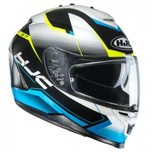 HJC kask IS-17 LOKTAR black/blue