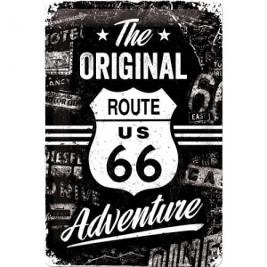 Plakat 20 x 30cm Route 66 The Orig