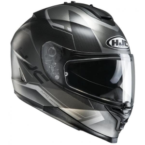 HJC kask IS-17 LOKTAR black/grey