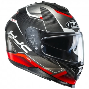 HJC kask IS-17 LOKTAR black/red