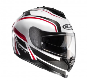 HJC kask IS-17 CYNAPSE black/white/red