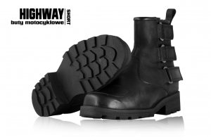 4.BIKER buty HIGHWAY Short